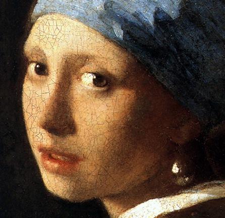 Vermeer, Girl with a Pearl Earring dv 1665