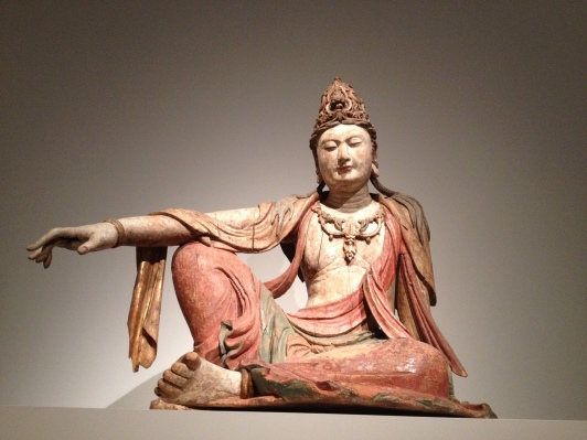11th century Guanyin statue, from northern China