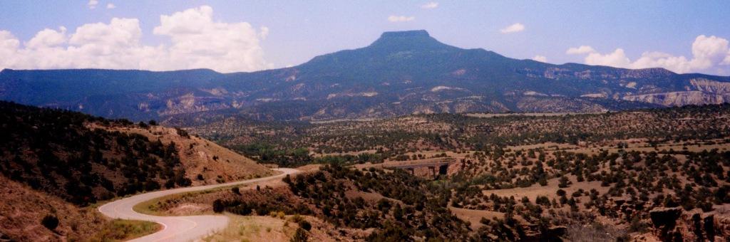 Photo: B. Fertman, Pedernal, Coyote, New Mexico
