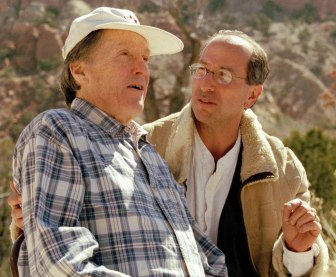 Buzz Gummere at 90, and Bruce Fertman