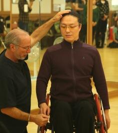 Bruce Fertman and 김용우.