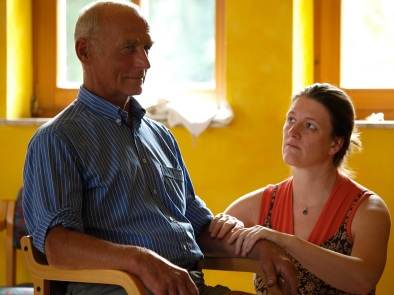 Klaus Osterholt and Irene Schlump