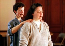 Lucia Walker and Cinda Thomas.