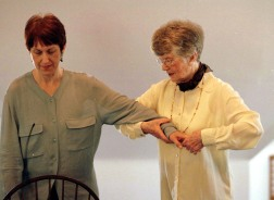 Glenna Batson and Elisabeth Walker