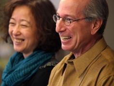 Midori Shinkai and Bruce Fertman