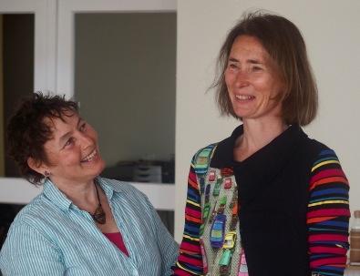Robyn Avalon and Andrea Stitzel