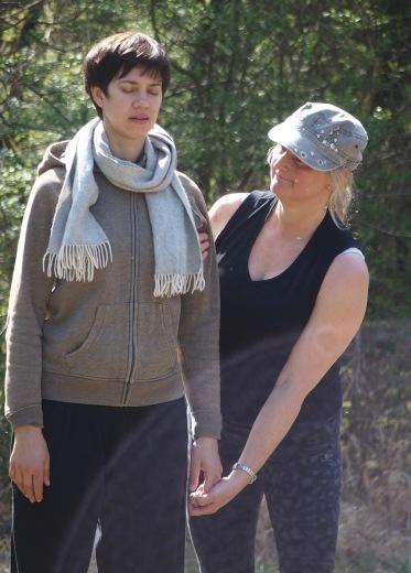 Margita Linde and Britta Brandt-Jacobs.