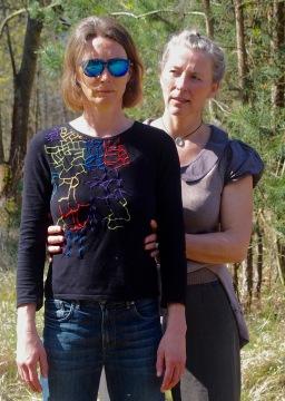 Andrea Stitzel and Margarete Tueshaus