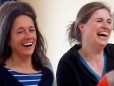 Julia Haslinger and Ann-Katrin Fliege.